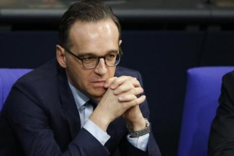 El ministro de Justicia de Alemania, Heiko Maas, durante una reunión de la Cámara baja del Parlamento alemán REUTERS/Fabrizio Bensch
