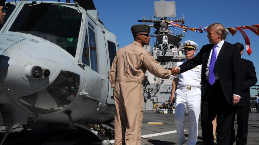 ¿Qué capacidad de armamento tiene Estados Unidos en la península de Corea?