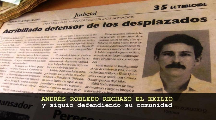 Memoria y dignidad campesina dia victimas Valle del Cauca