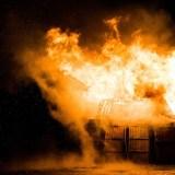 Incendie dans une résidence