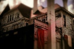 """""""Haunted?"""" by geraldbrazell is licensed under CC BY-ND"""