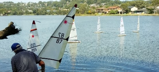 Rc Laser sailing Central Coast