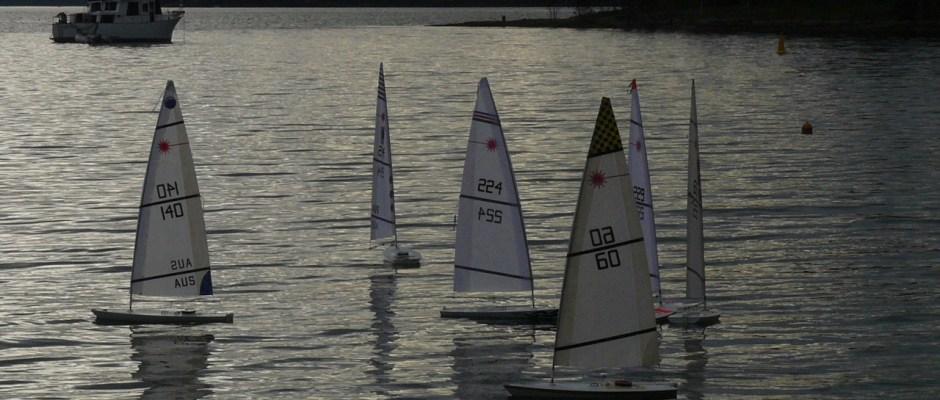 Central Coast RC Laser Launch Regatta at Rafferty's Resort