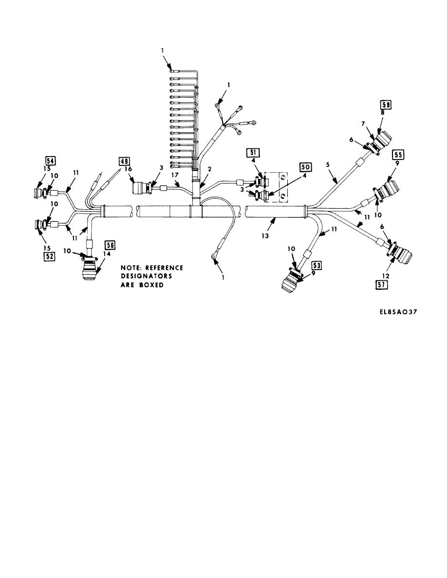 wiring harness topcon asc 10