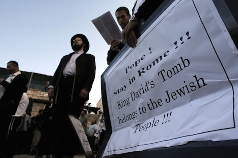 ISRAEL-PALESTINIAN-RELIGION-POPE-DEMO