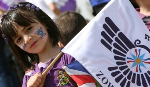 An Iraqi Christian Assyrian girl joins i