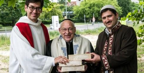 Drei Religionen unter einem Dach vereint