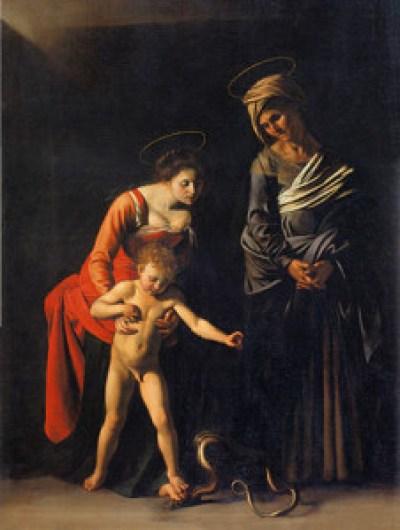 Madonna dei Palafrenieri,  Caravaggio [fonte: Wiki]