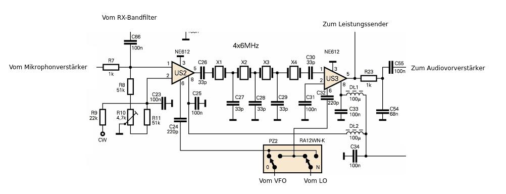 small radio transmitter circuit