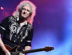 El solo de Brian May delante del elenco de 'Bohemian Rhapsody' (VIDEO)