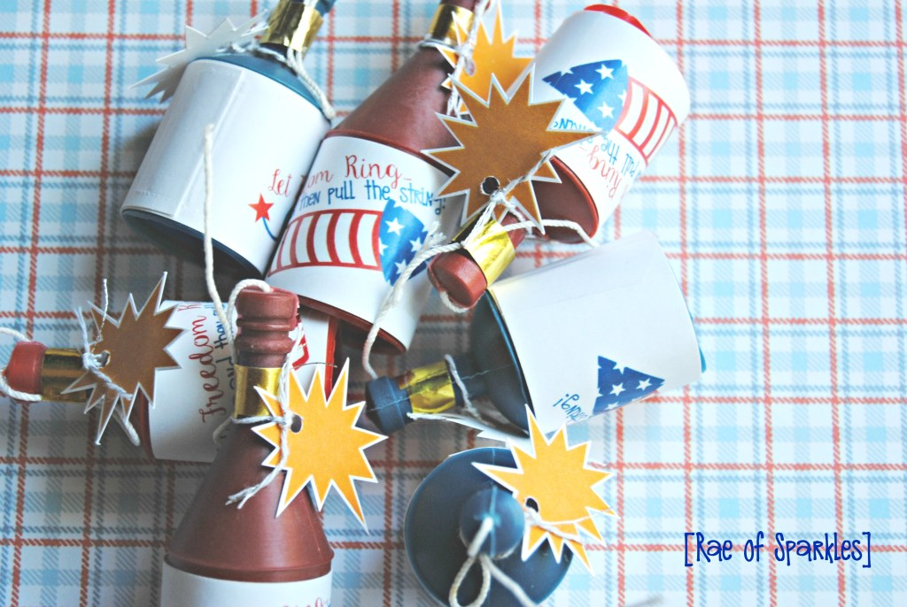 4th of July Party Favors - Firecracker