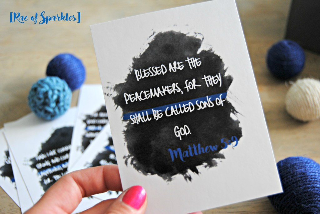 Police Office Bible Verses - Free Printable Cards