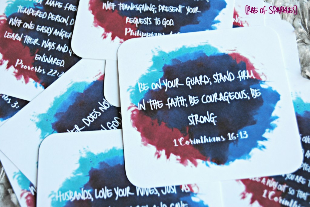 Printable Bible Verse Notecard