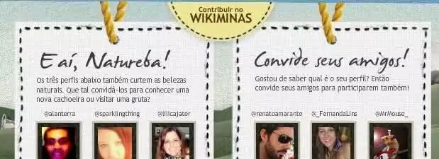 Minas cai na net! Tourist Analizator e WikiMinas