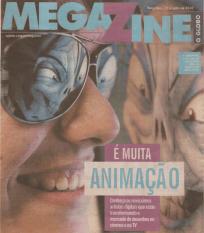 Rafael Carvalho na revista Megazine