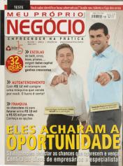 Revista Meu Próprio negócio com Rafael Carvalho