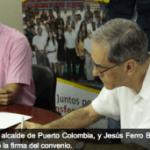 Uninorte firma convenio de becas con Alcaldía de Puerto Colombia