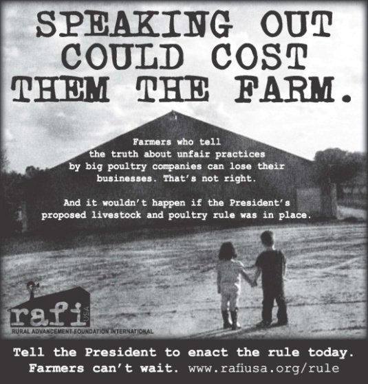 Speaking Out Could Cost Them The Farm
