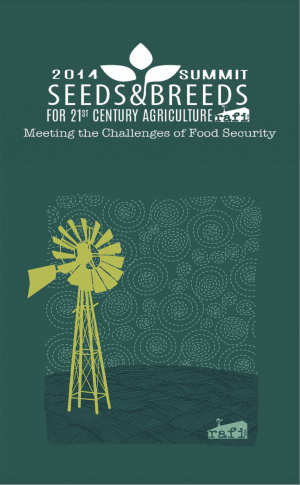 Front Cover of Proceedings of 2014 Summit on Seeds and Breeds