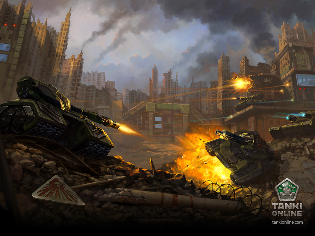 Hd Gamer Wallpaper Tanki Online At Gamescom Ragezone