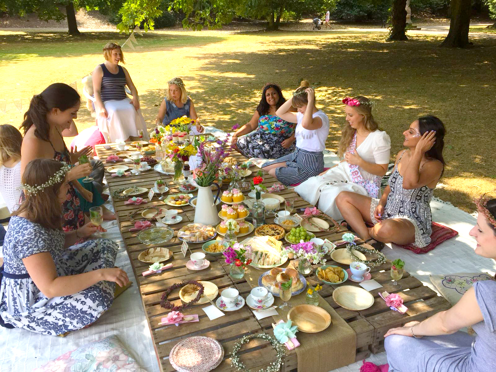 Ragged Life Blog Hen Do In The Park Ragged Life Blog