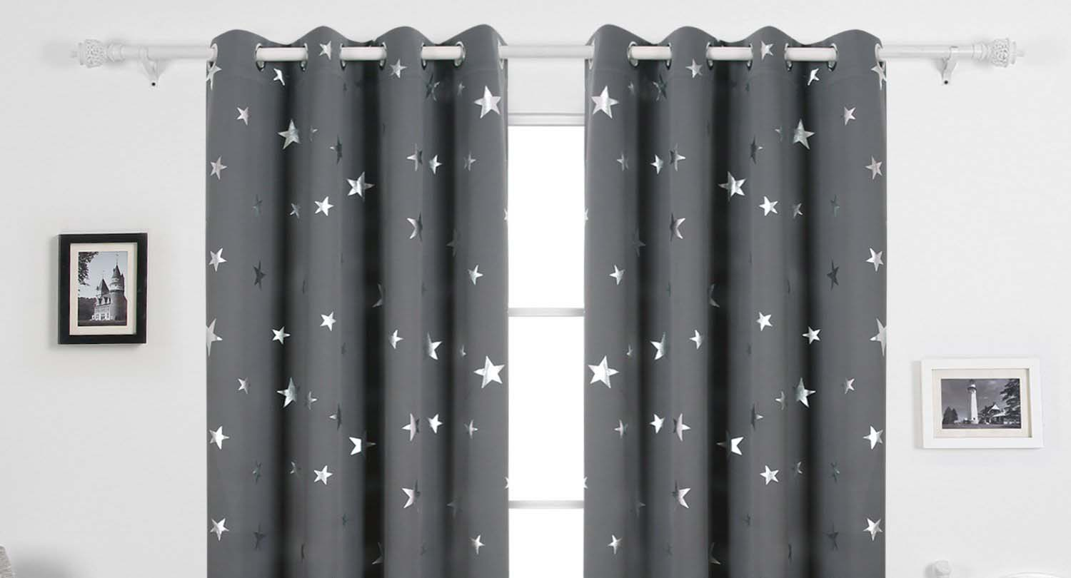 Curtain Insulation Fabric Top Blackout Curtains