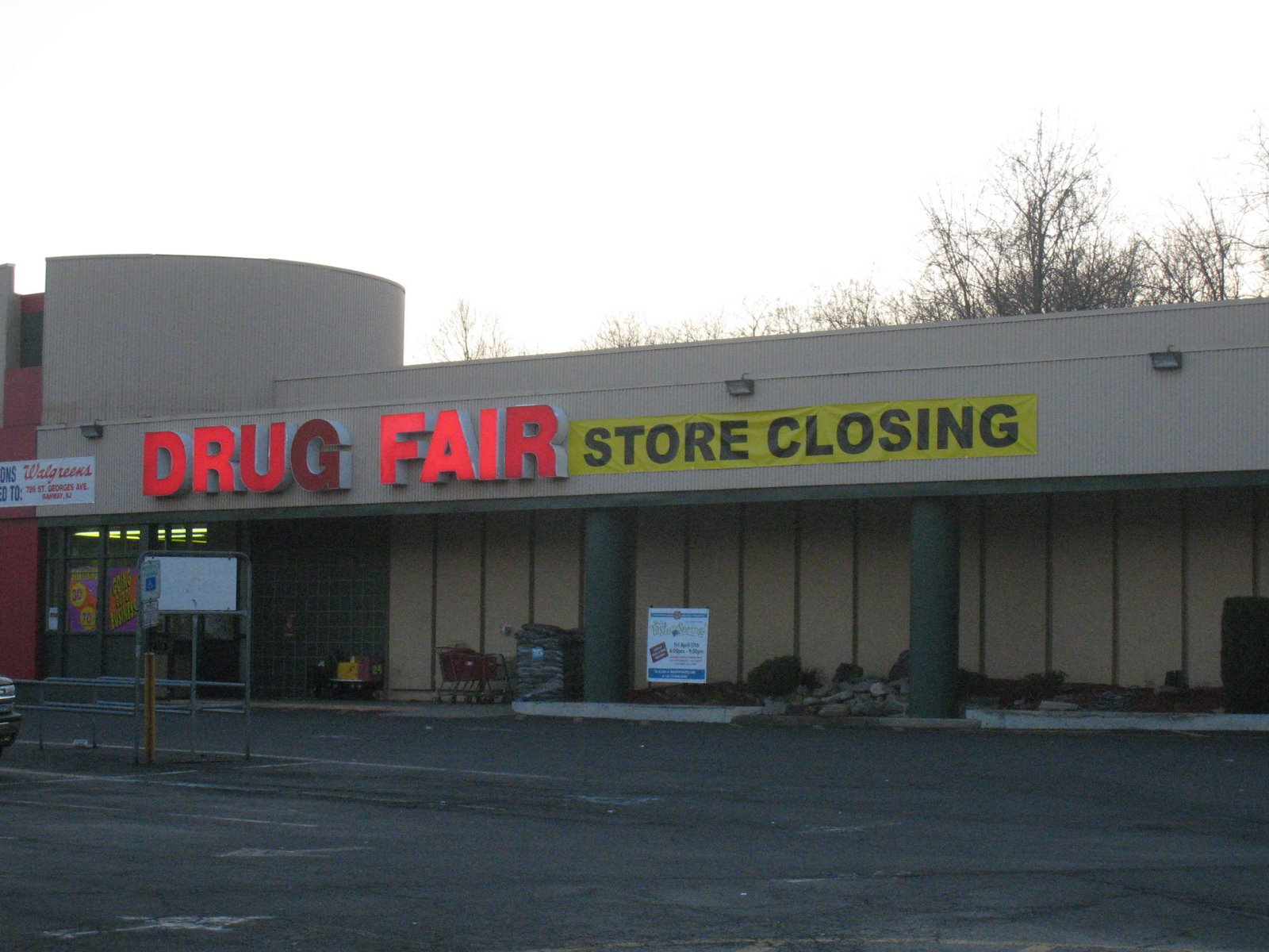 Readers want grocery store at Drug Fair site Rahway Rising