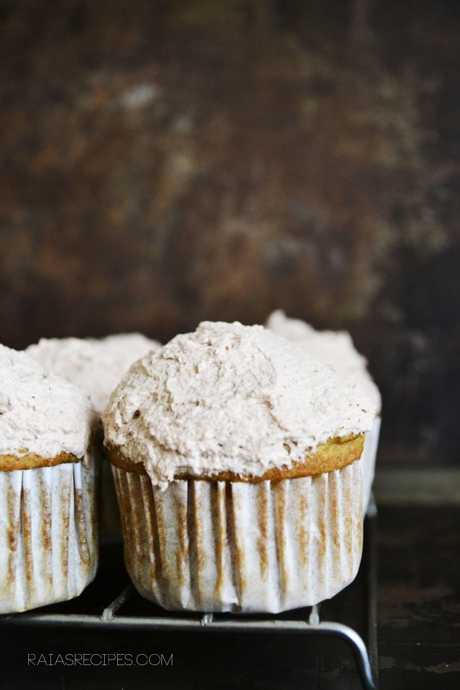 Orange Cupcakes | gluten-free, dairy-free, refined sugar-free |RaiasRecipes.com