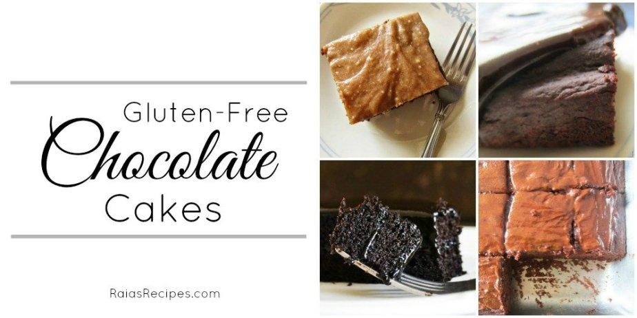 Chocolate Cakes Collage | RaiasRecipes.com