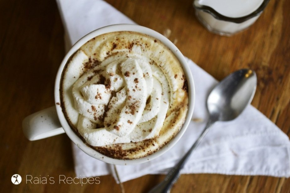 What better way to celebrate fall than with a delicious and easy to make Herbal Pumpkin Mocha?
