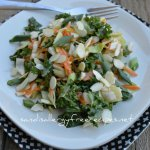 Ginger Sesame Oriental Cabbage Salad from Sandi's Allergy Friendly Recipes