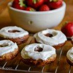 Strawberry Banana Donuts