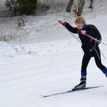 Séance ski de fond – 28/01/2017