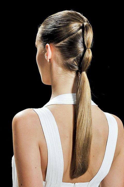 Причёски из тонких волос