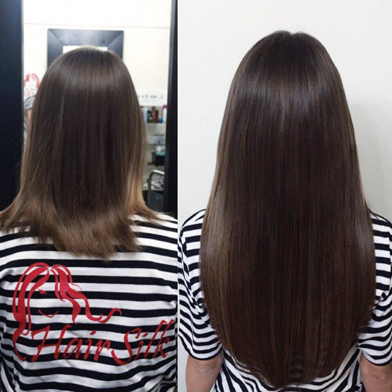 Наращивание волос на короткие волосы отзывы фото