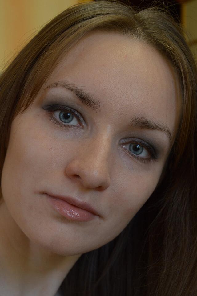 Свадебный пошаговый макияж карих глаз