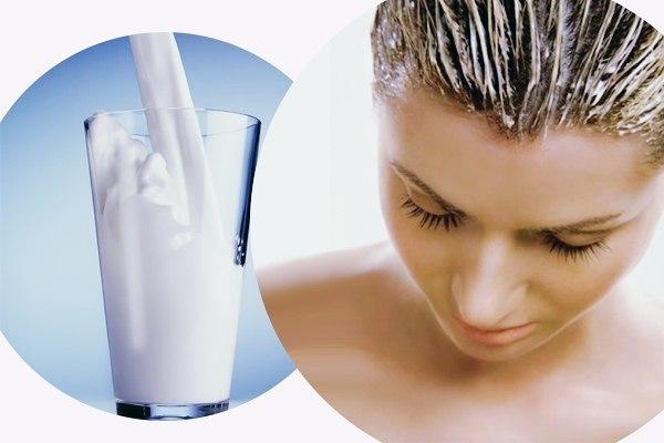 Желток с молоком маска для волос