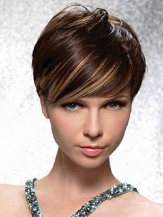 Мелирование коротких волос модный