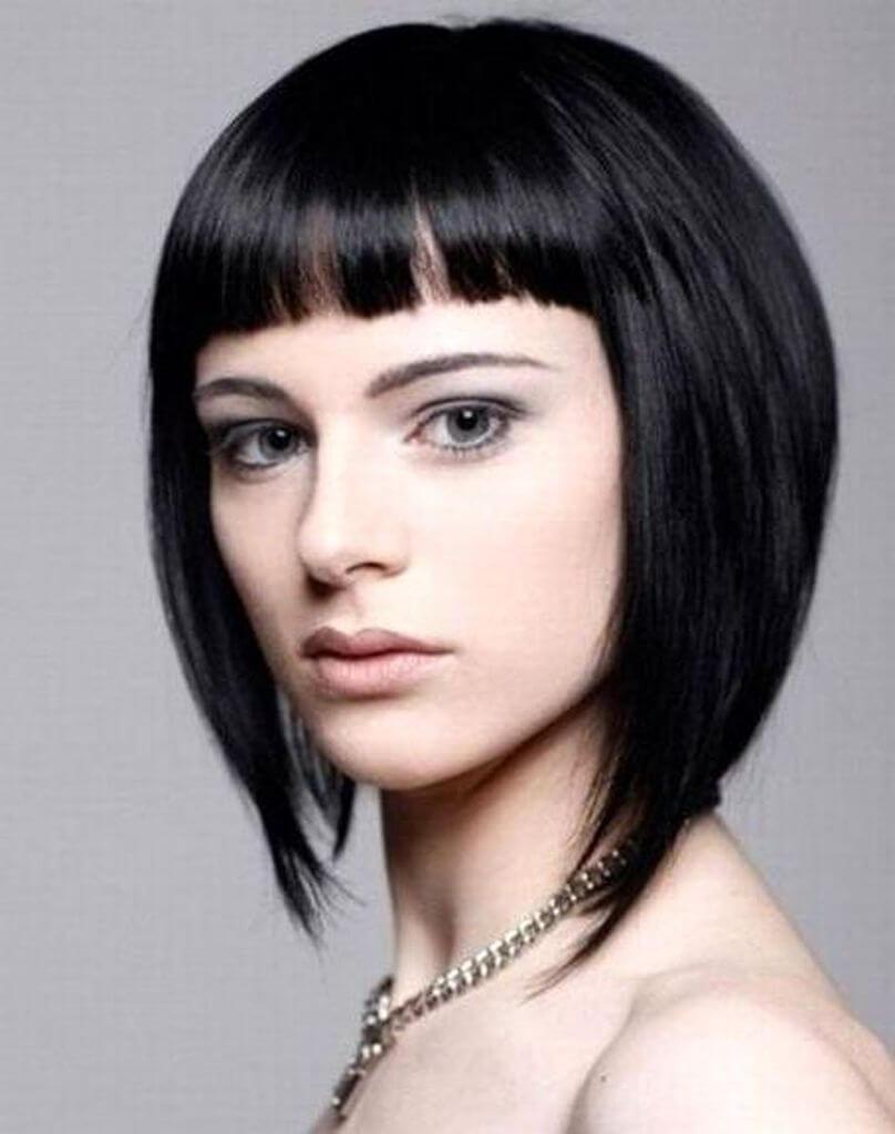 Стильные стрижки и прически на короткие волосы: фото 50