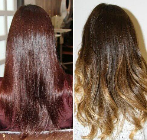 Шатуш на мелированные волосы фото - ae7e1