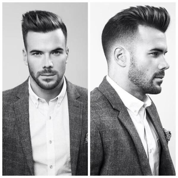 мужская стрижка и борода