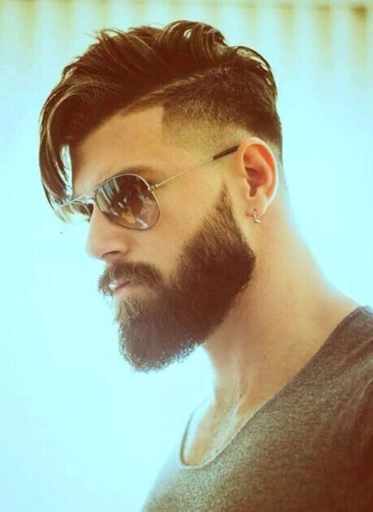 мужская стрижка борода