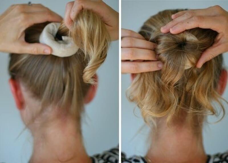 Как сделать из жидких волос шишку - Norwegiya.ru