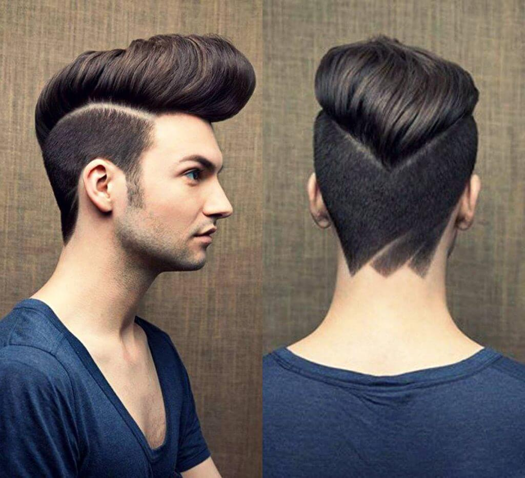 Haircut for young men