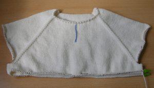 Вязание кофты ребенку реглан сверху 172