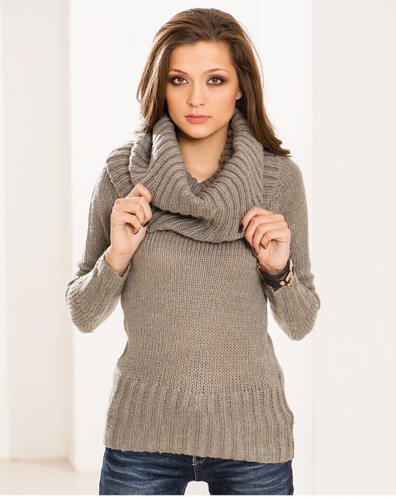 Модный свитер женский 2017