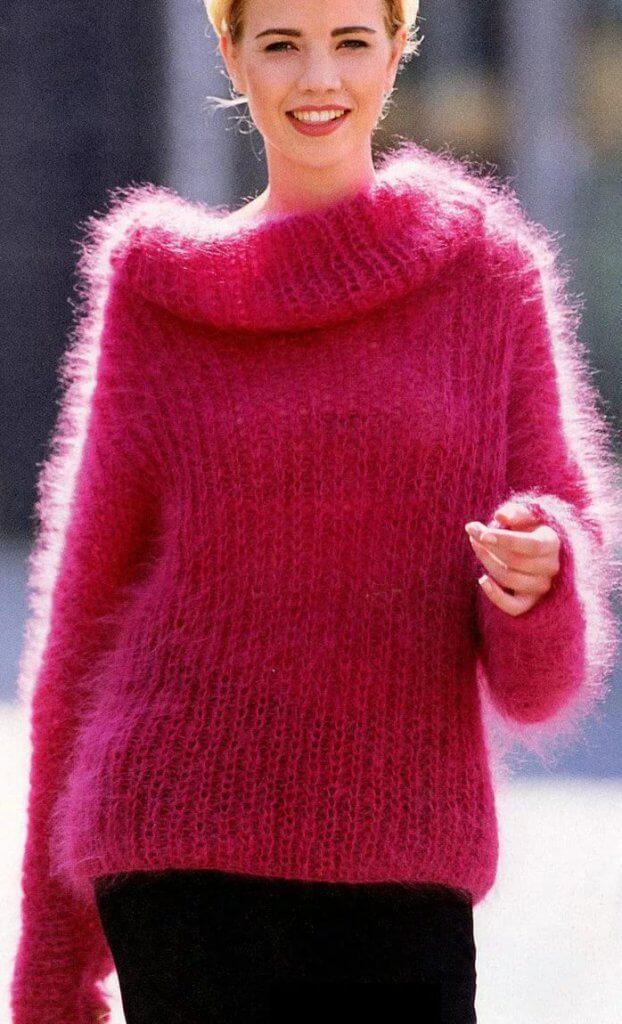 Мохеровые женские свитера