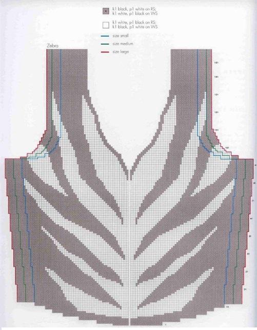 Интарсия вязание модели схемы 182