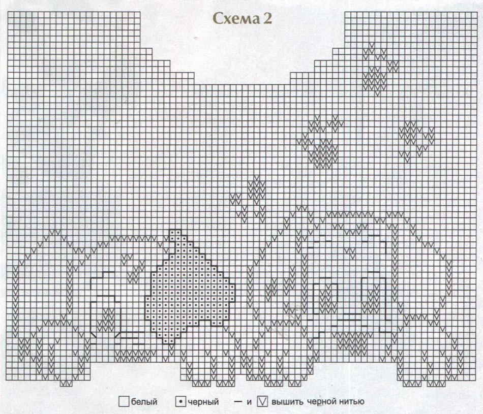 Вязание спицами для детей рисунки с описанием 30