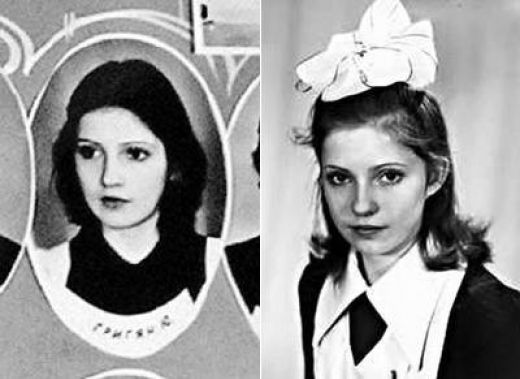 Валентина Матвиенко в молодости